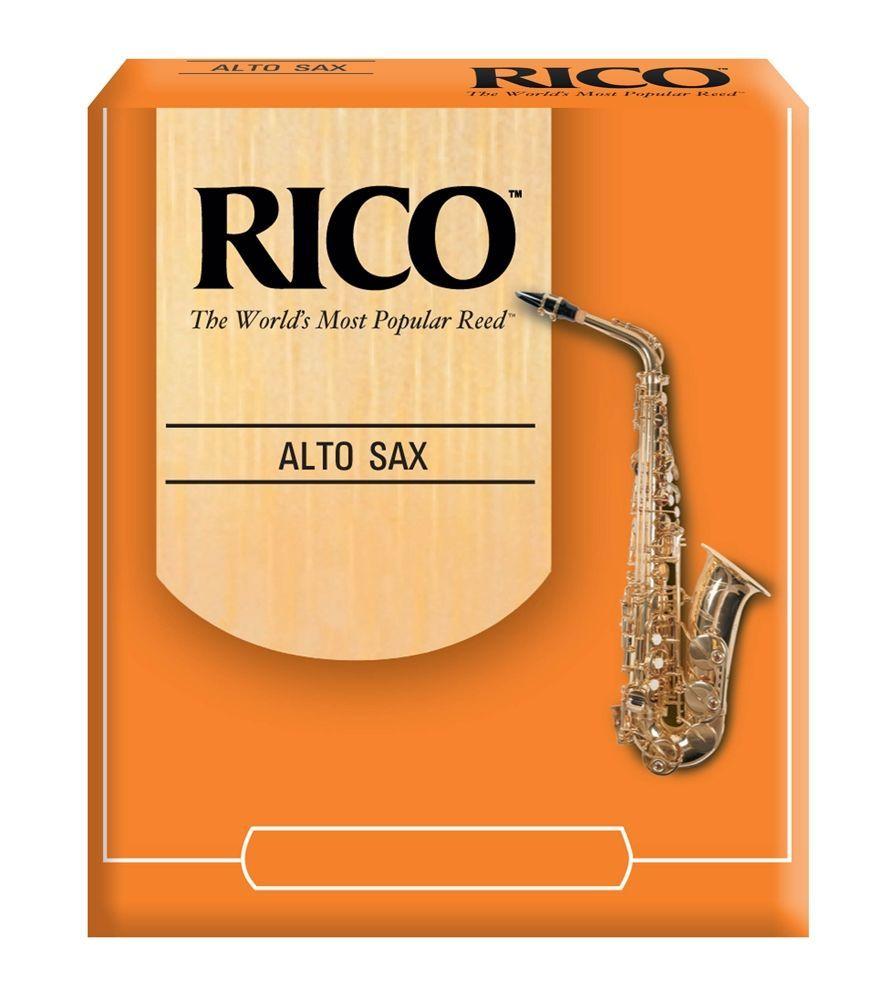 Daddario WoodWinds Rico Blatt Altsaxophon 3,0 unfiled, das RICO Standardblatt