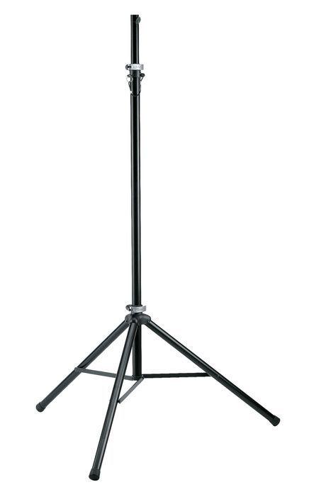 K&M 24625 Lichtstativ mit 28 mm TV-Zapfenaufnahme Leuchtenstativ aus Aluminium