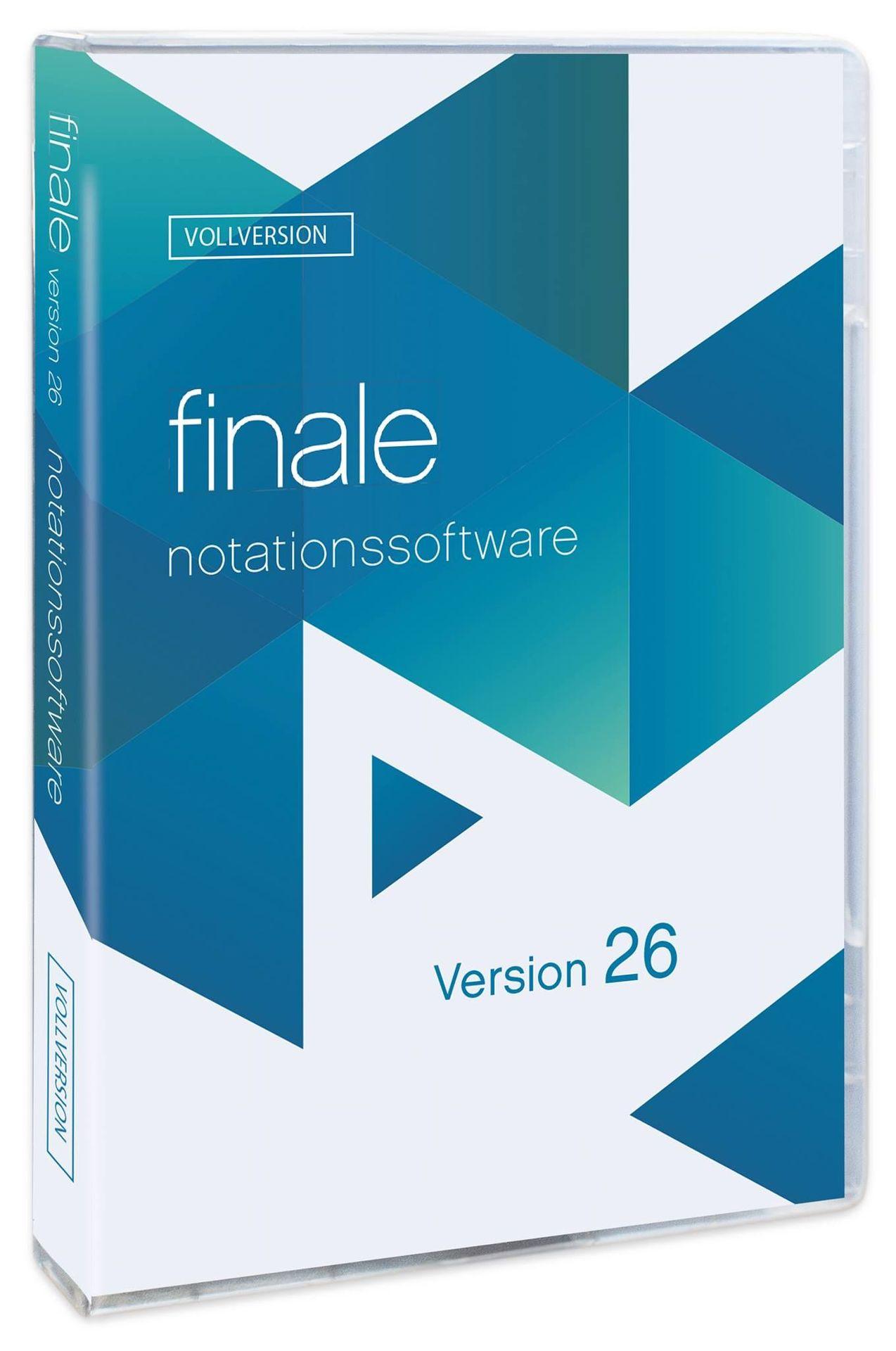 Makemusic Finale 26D Vollversion, Notensatz deutsche Version