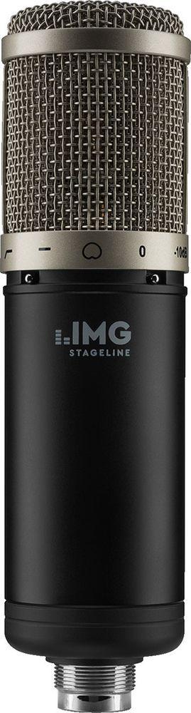 IMG Stage Line ECMS-90 Großmembran-Kondensator-Mikrofon mit Spinne