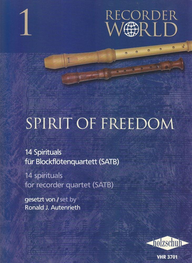 Noten Spirit of Freedom 14 Spirituals  VHR 3701 Holzschuh Blockflöten