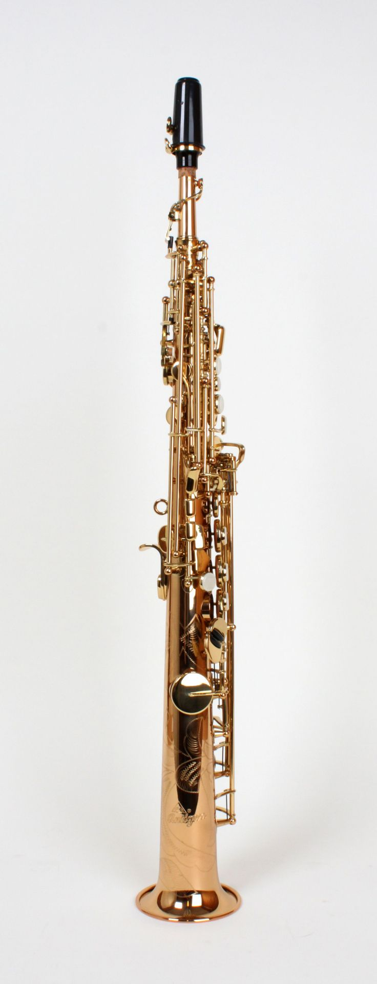 """Antigua SS-4290R-LQ-CH Sopransaxophon """"Power Bell"""" lackiert, Etui"""