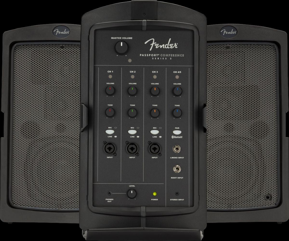 Fender Passport Conference Series 2 Kompaktes aktives PA-System mit Bluetooth