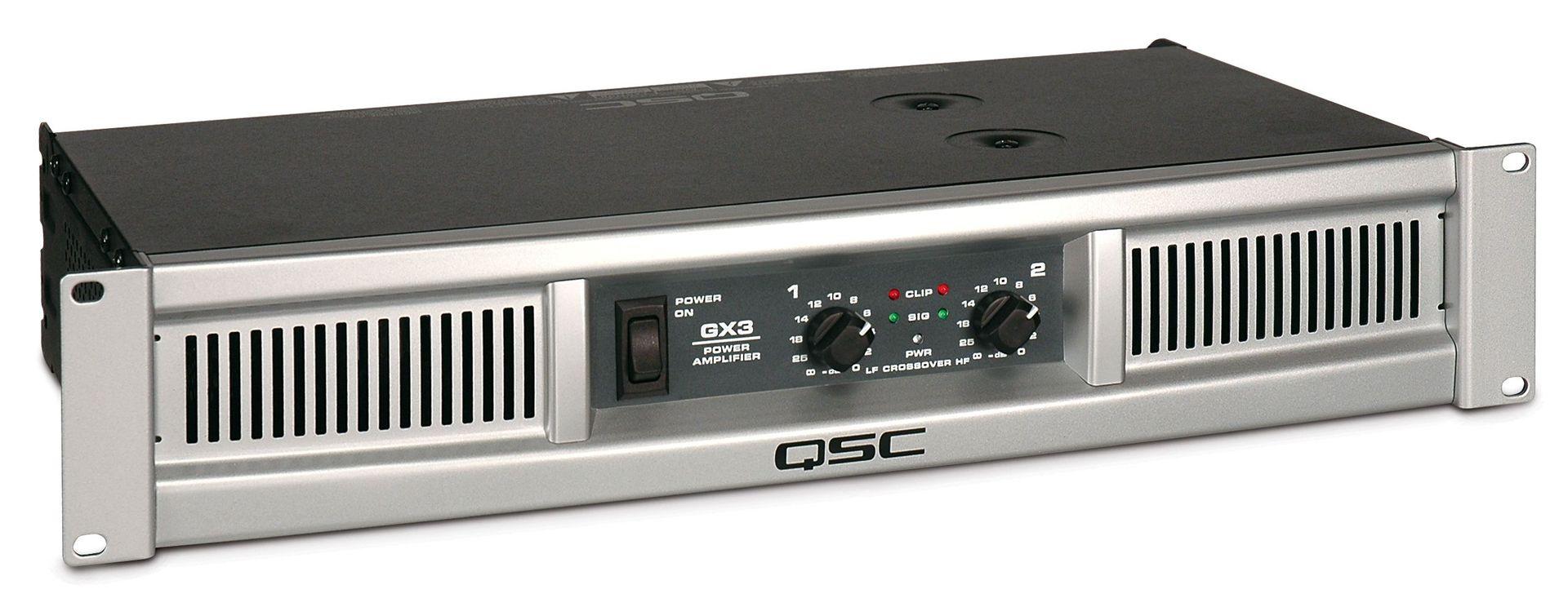 QSC GX 3 Endstufe  2x 425 Watt Power Amp 500 Watt Verstärker 2 HE