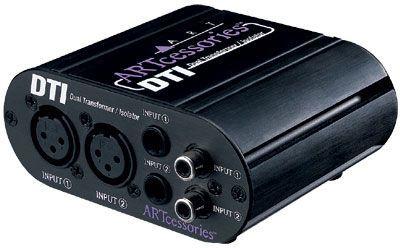 ART DTI Dual Transformer/Isolater passiv,  2 Kanäle