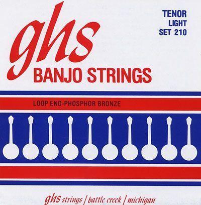 GHS Banjo-Saiten Set 210