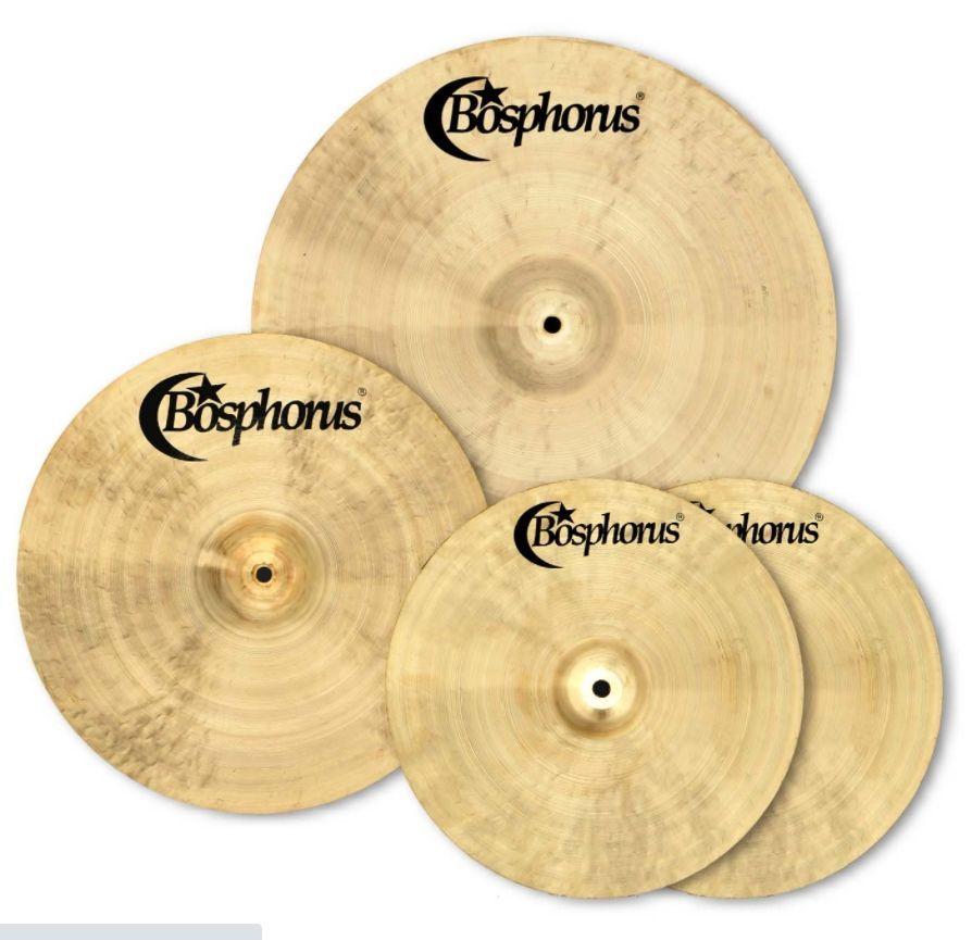 Bosphorus BOSCYBOX3 Basic Cymbal Set