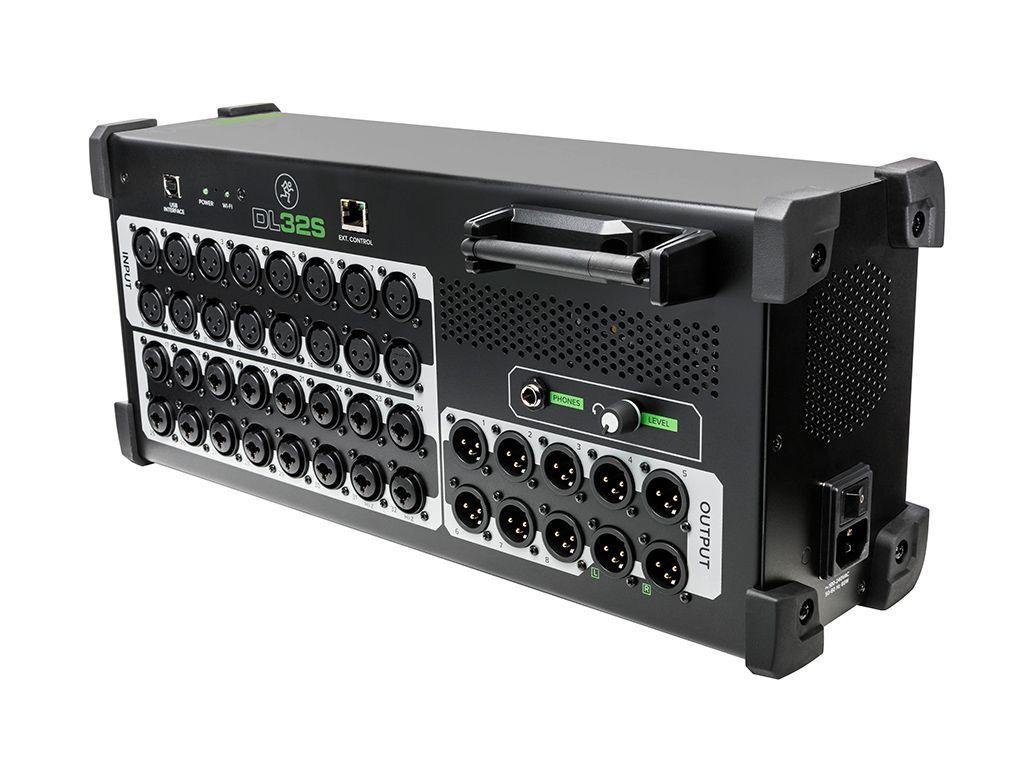 Mackie DL32S Kabelloser 32-Kanal Live-Digitalmixer  mit eingebautem Wi-Fi