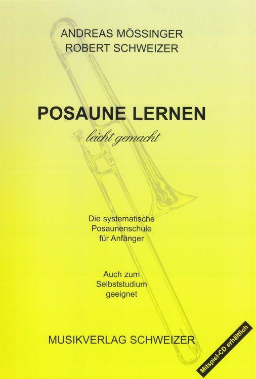 Schule Posaune lernen leicht gemacht Mössinger & Schweizer 401