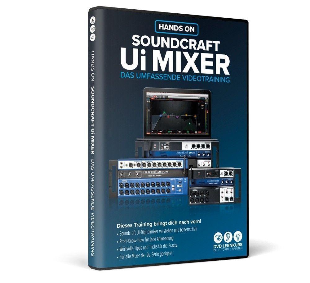 DVD Lernkurs Hands On Soundcraft Ui Mixer Videolernkurs