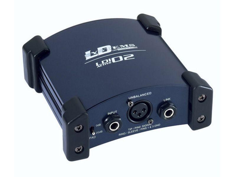 LD Systems LDI 02 aktive DI-Box