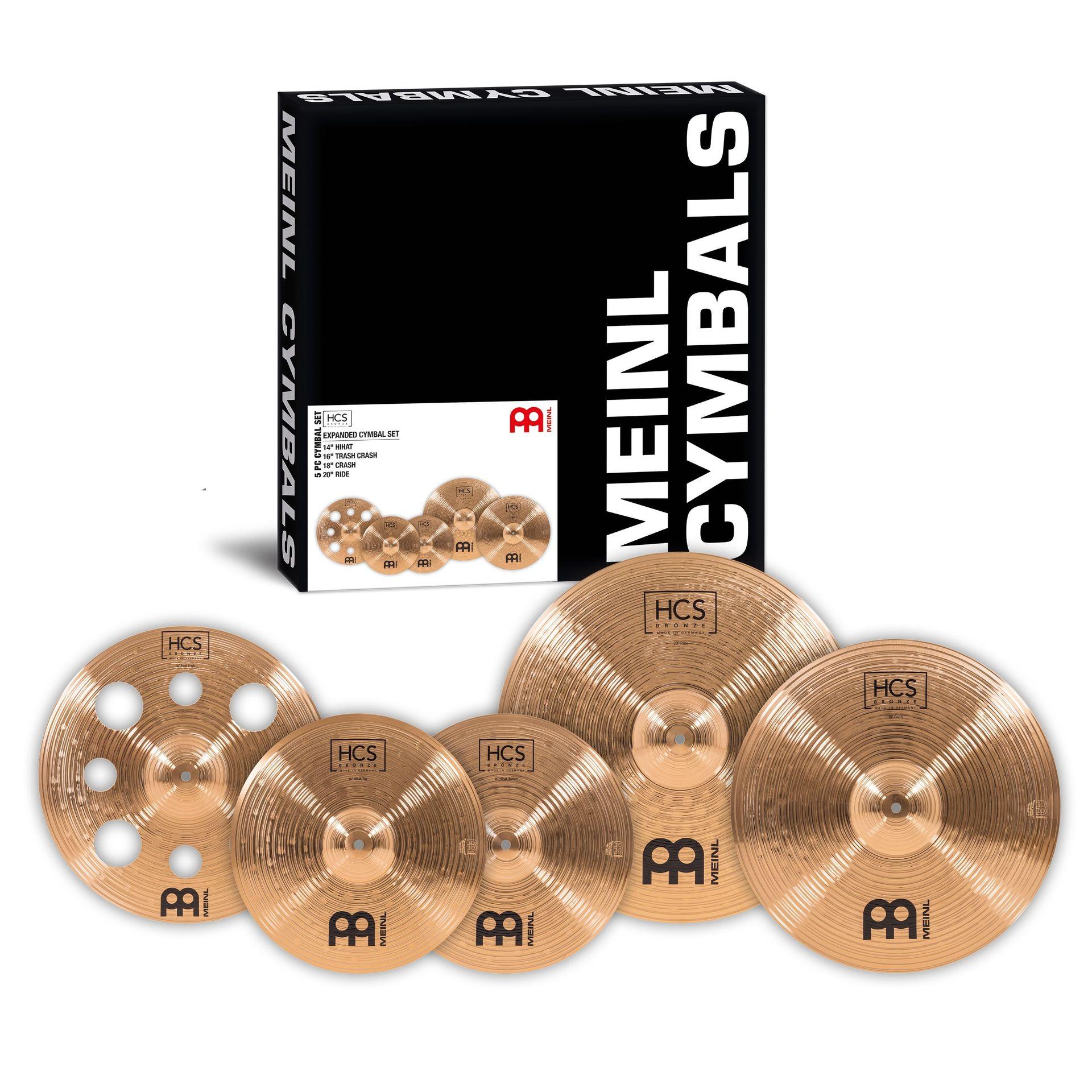 Meinl Cymbals HCS Bronze Deluxe Set