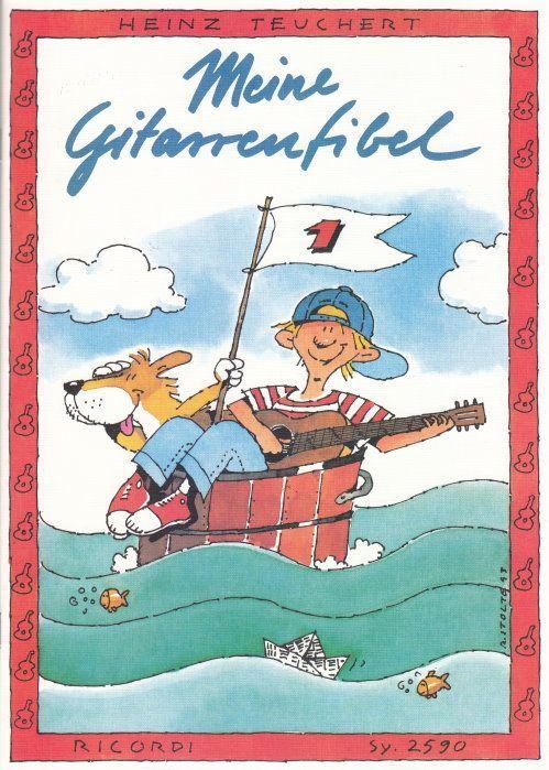 Noten Meine Gitarrenfibel 1 Heinz Teuchert Ricordi SY 2590
