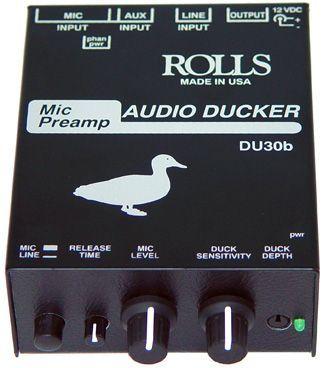 ROLLS DU-30B Preamp, Talkover, Ducker