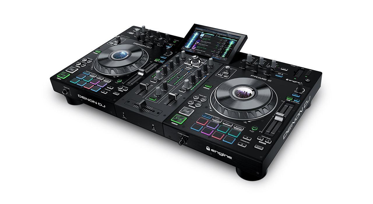 """Denon DJ Prime 2  2-Deck Smart Standalone DJ System mit 7"""" Touchscreen"""