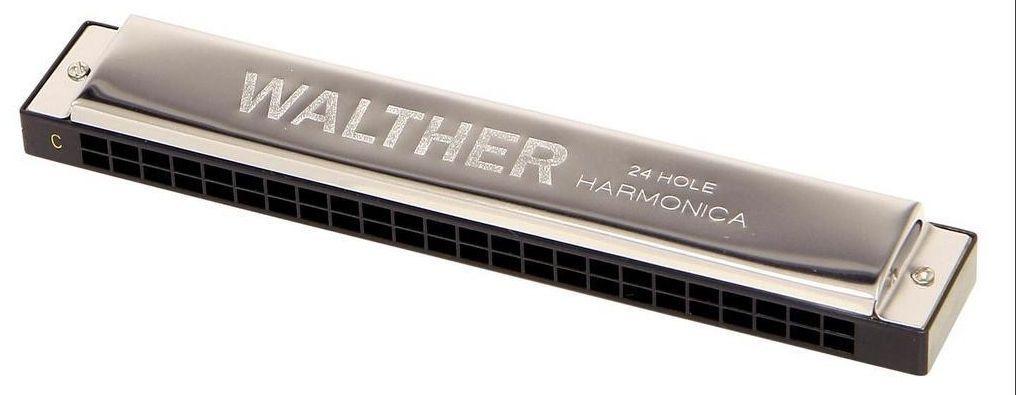 Walther Mundharmonika Tremolo C Dur TR-48