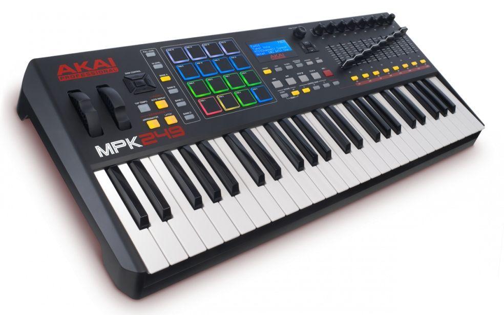 AKAI MPK 249  USB/MIDI Controller Keyboard
