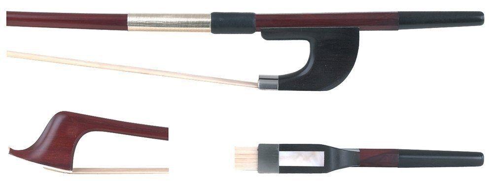 GEWA Bassbogen 3/4 Brasilholz deutsches Modell, runde Stange, Kontrabass