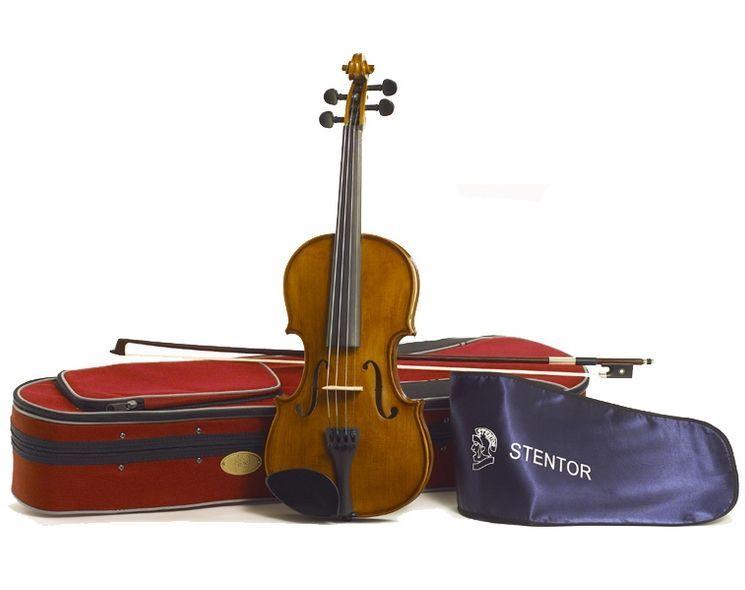 Stentor Violine Student II 1/8 SR-1500G  Garnitur mit Koffer u. Bogen