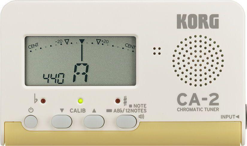Korg CA-2 ChromaticTuner, chromatische Stimmgerät mit 7 Oktaven Stimmumfang
