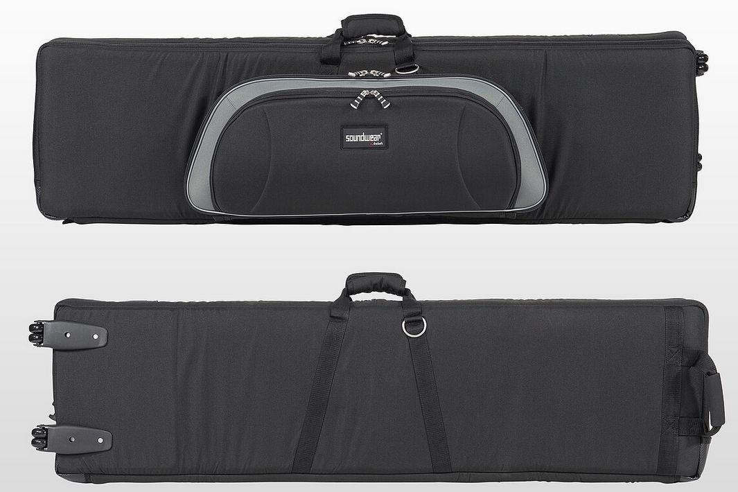 Keyboard Bag mit Rollen, Soundwear 29136, 136 x43 x14 cm, FP-90, P-515, FP7