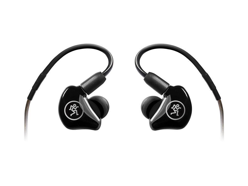 Mackie MP-220 In Ear Monitor Hörer, In-Ear Kopfhörer Farbe: schwarz