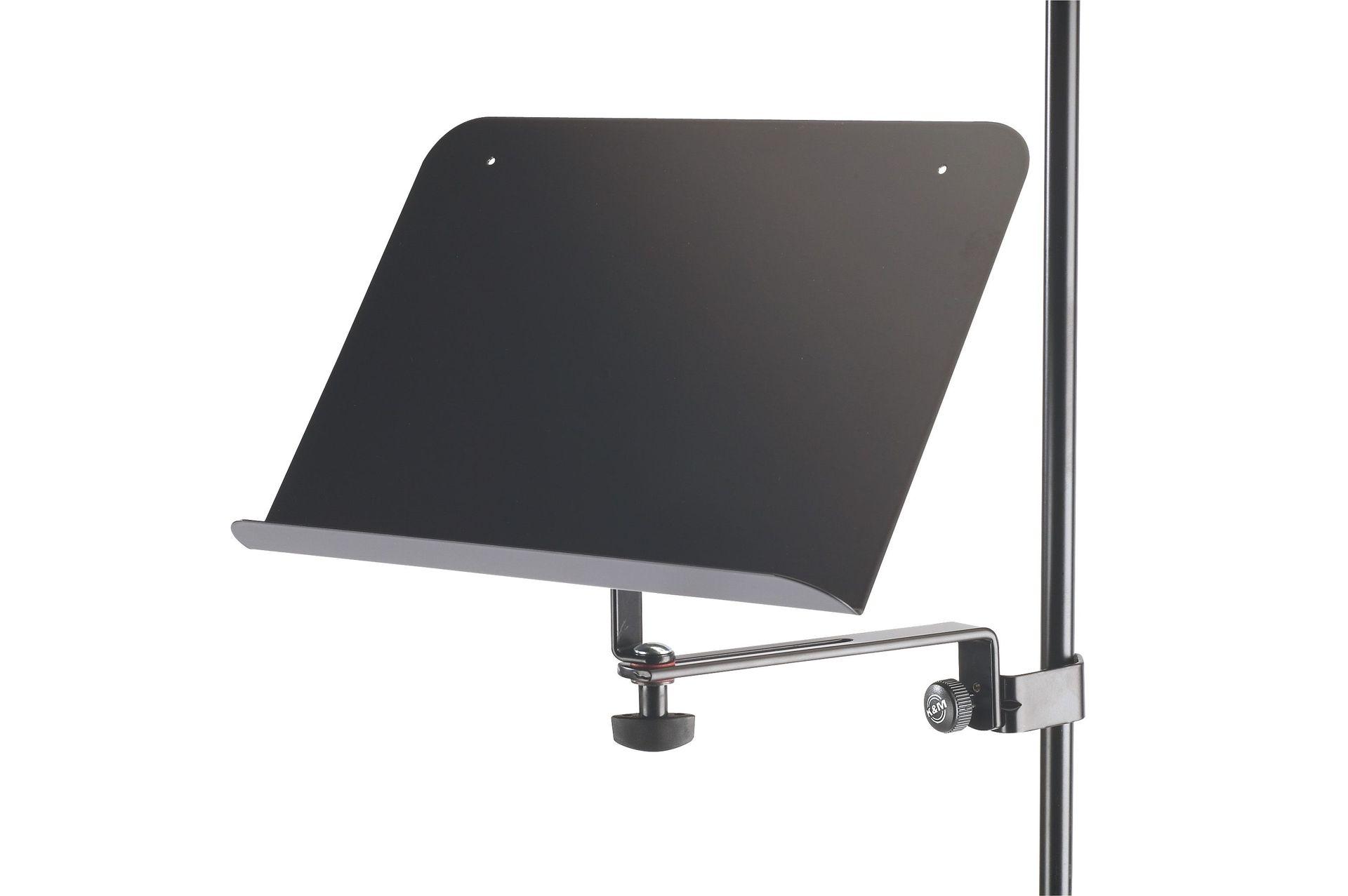 K&M 11520 Notenablage 30x20cm  - 115/2 für Notenpulte und Mikrofonständer