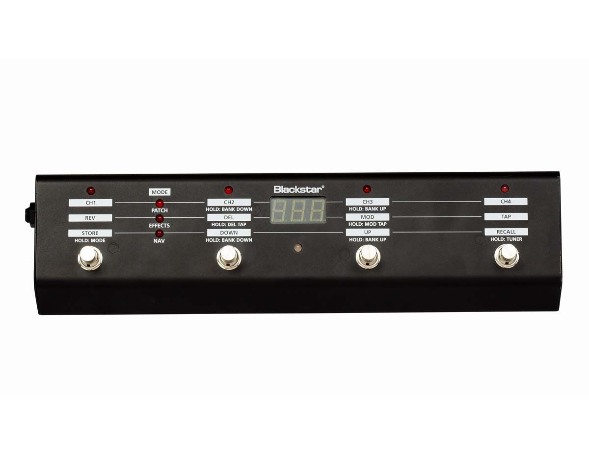 Blackstar ID: FS-10 Footcontroller Fußschalter für alle Blackstar ID:TVP Amps
