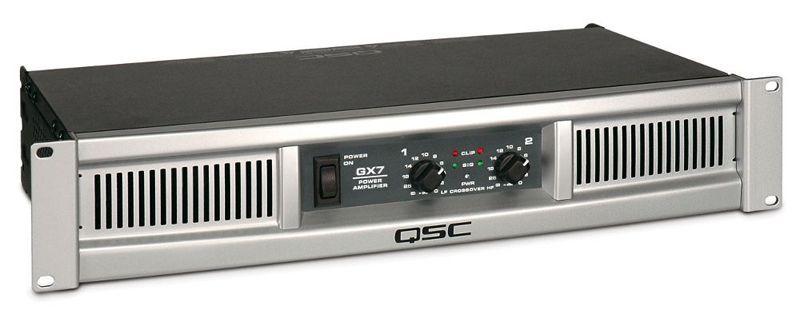 QSC GX 7 Endstufe 2x 1000 Watt Power Amp 1200 Watt Verstärker 2 HE