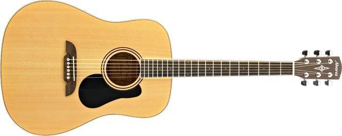 Alvarez RD26 Akustikgitarre für Einsteiger, Fichte Natur, incl. Gigbag