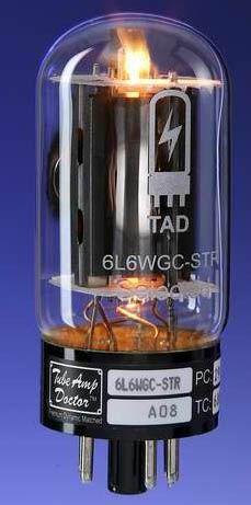 TAD Tubes 6L6WGC-STR Quartett