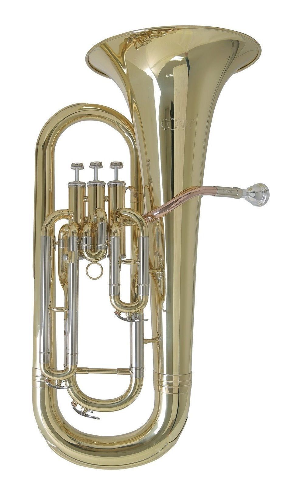 Conn EP-653 Bb-Euphonium, 14,5mm / 16,80mm Doppelbohrung, 3 Ventile,  incl.Etui