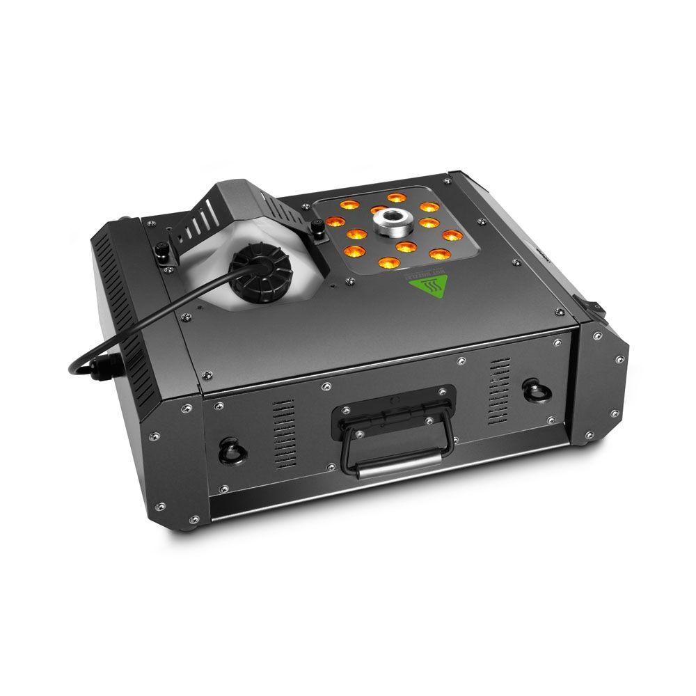 Cameo STEAM WIZARD 2000 Nebelmaschine mit RGBA-LEDs für farbige Nebeleffekte