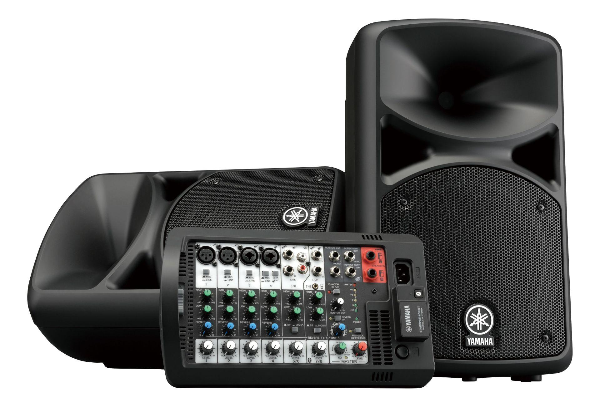 Yamaha Stagepas 400BT Klein-PA, integrierter Powermixer mit Bluetooth