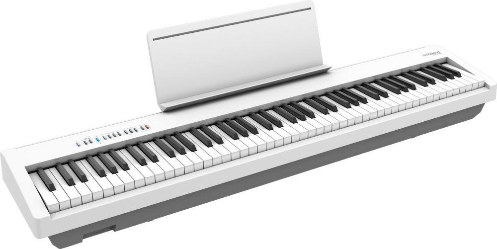 Roland FP-30X-WH Stagepiano weiß Digitalpiano mit Lautsprechern