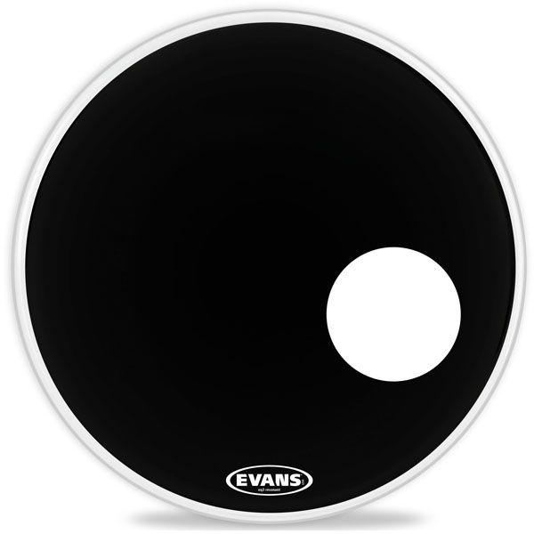 """Evans 24"""" EQ3 Resonant Bass Drum schwarz BD24RB"""