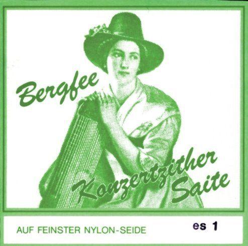 Bergfee Zithersaiten Satz 1321-MS42 42-saitig, grüne Serie, Harfenzither