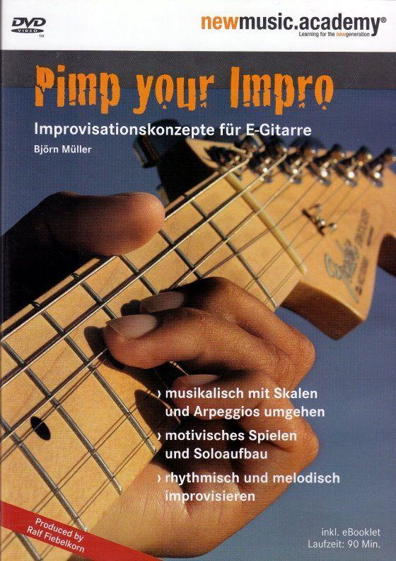 DVD pimp your impro IMPROVISATIONSKONZEPTE Björn Müller BoE 7181