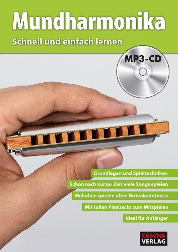 Noten Mundharmonika Schnell und einfach lernen mit MP3-CD HH 1601