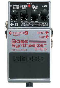 Boss SYB-5 Bass Synthesizer  Abverkaufsteil !!