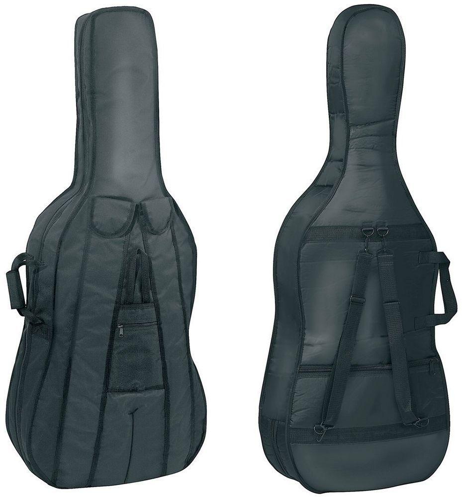 GEWApure Cello Gigbag 4/4 Größe, Tasche mit Rucksackträgern