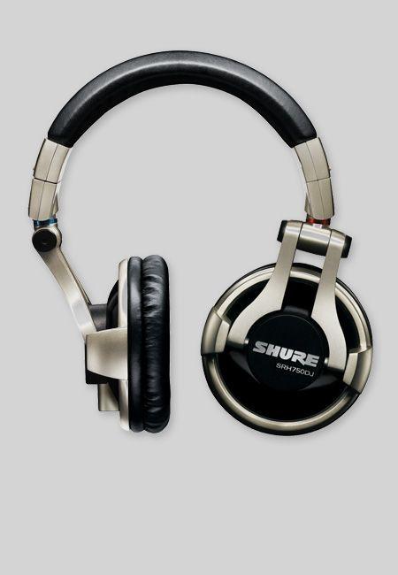 Shure SRH 750 DJ Kopfhörer