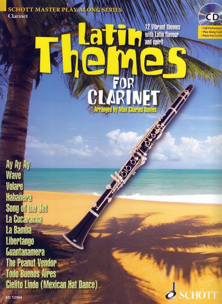 Noten Latin Themes for Clarinet incl. CD Lateinamerikanische Titel ED 12994