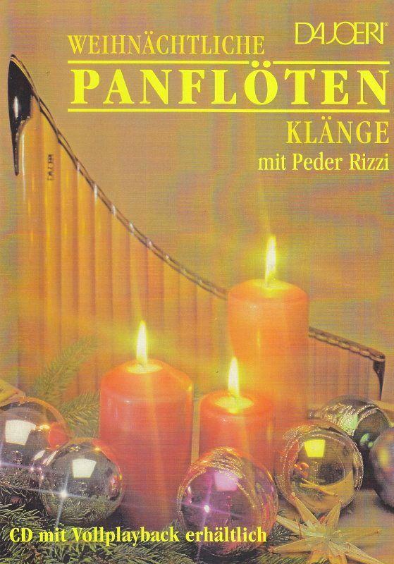 Noten WEIHNACHTLICHE PANFLÖTENKLÄNGE Rizzi Peder DAJOERI 1113