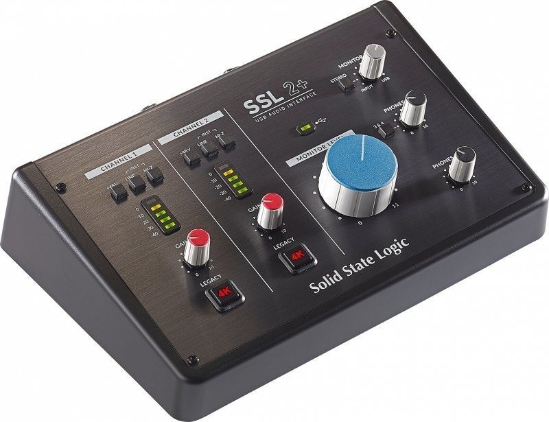 SSL Solid Stage Logic SSL 2+  2 IN / 4 OUT USB-C Audio-Interface