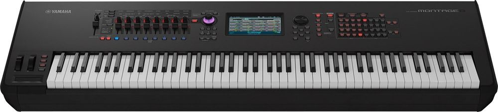 Yamaha Montage 8 Synthesizer Workstation mit 88 Tasten Hammermechanik