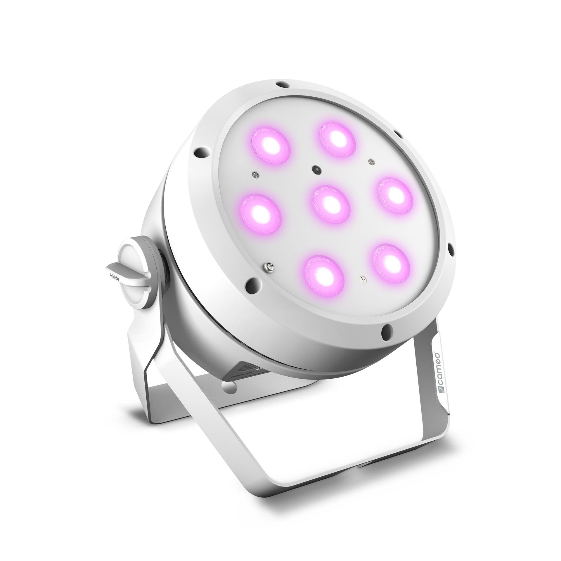 Cameo ROOT PAR 4 WH weiß   7 x 4 W RGBW LED PAR Scheinwerfer