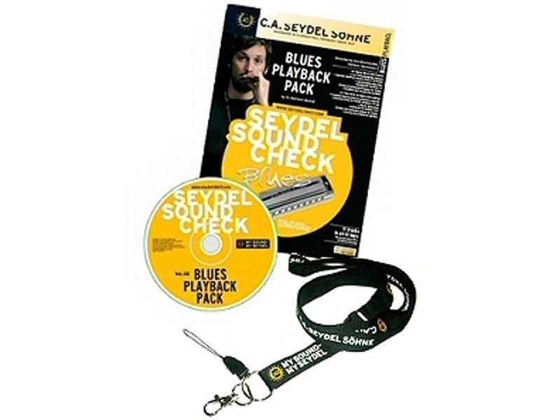Seydel Sound Check Vol.2 Mundharmonika-Playback Pack