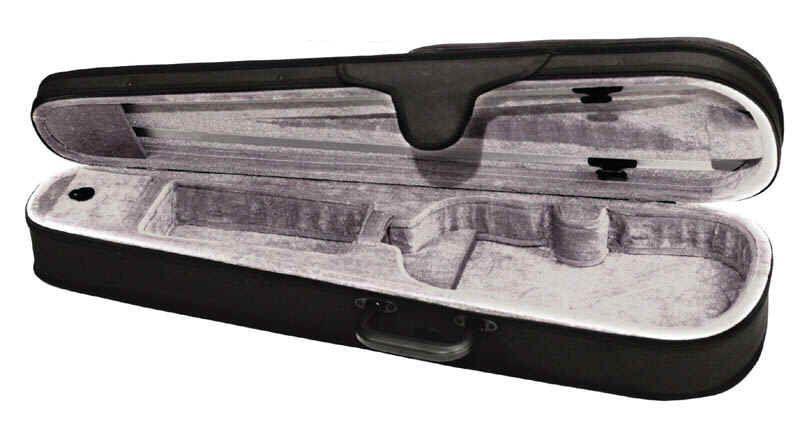 Etui für Violine 1/4 Größe CVF universeller Form-Koffer mit Rucksackträgern