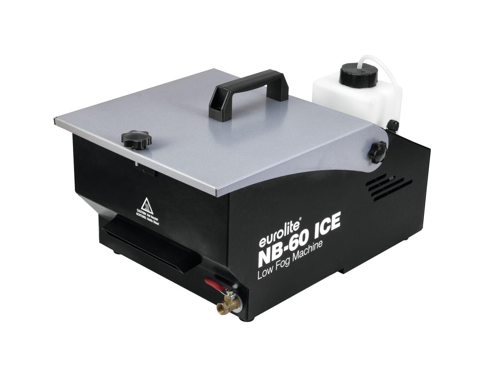 EUROLITE NB-60 ICE Bodennebler, Bodennebelmaschine mit Timersteuerung